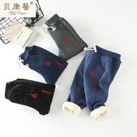 [当当自营]贝康馨童装 男童车轮刺绣超柔棉裤