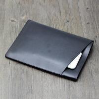 双层收纳包苹果iPad Pro 2018款 11寸平板电脑保护套 皮套 直插袋 裸机用 立体款黑色+送笔套