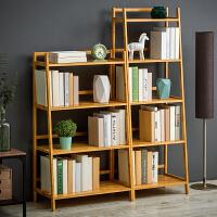 淘之良品简易书架置物架简约现代儿童收纳架实木多层落地学生书柜