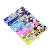 迪士尼多功能文具盒女童迪士尼公主苏菲亚儿童文具盒小学生铅笔盒