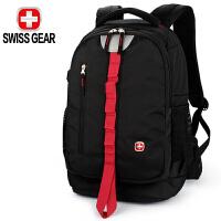 SWISSGEAR瑞士军刀专业单反相机包双肩摄影包大容量防盗多功能数码单反包 红边