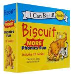 小饼干 Biscuit More Phonics Fun (My First I Can Read) 12册 饼干狗原