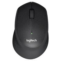 【支持当当礼卡】罗技(Logitech)M330 无线静音鼠标 笔记本电脑办公家用静音鼠标 带无线2.4G接收器 黑 灰
