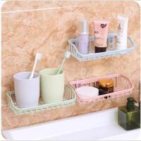 双吸盘厨房杂物置物架水槽洗碗海绵沥水架多功能沥水收纳架