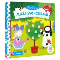 First Stories BUSY 系列纸板书童话故事篇 Alice in Wonderland爱丽丝梦游仙境操作活