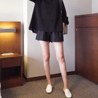 春夏大码打底裤薄款孕妇装夏装孕妇短裤女夏外穿裤子托腹阔腿裤
