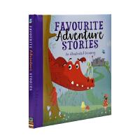 Favourite Adventure Stories 宝贝爱 精装软包封面 英语冒险绘本故事集 儿童英文原版图书进口