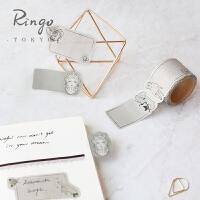 Ringo日本进口BGM纸日式手帐工具易撕胶带型便利贴手账装饰贴