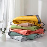 多喜爱家纺水洗空调被子午睡盖被夏薄被多用被子春秋被多彩夏被