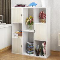书柜 现代创意多功能多层落地组合书柜简易组合置物收纳储物架办公收纳架展示架子柜子满额减限时抢