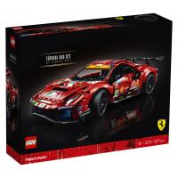 LEGO乐高积木机械组Technic系列42125Ferrari 488 GTE Evo 51号法拉利赛车