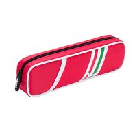 得力(deli) 66702 男女中学生笔袋 大容量创意时尚欧式印花防水文具袋 红色 当当自营