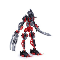 儿童拼插积木3-5-6岁以上幻影忍者男孩机器人拼装玩具
