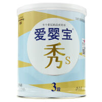 爱婴宝秀S韩国原装进口婴幼儿奶粉牛奶粉3段(1~3岁)800克