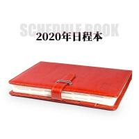 计划表日程本2020年商务效率手册笔记本工作学习日程计划B5本时间管理A5每日计划记事本日历本便携小本文具