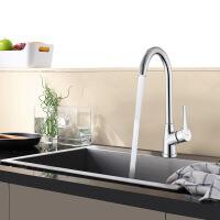 天王卫士单孔厨房龙头天卫浴水洗菜盆冷热卫浴洁具水槽可旋转