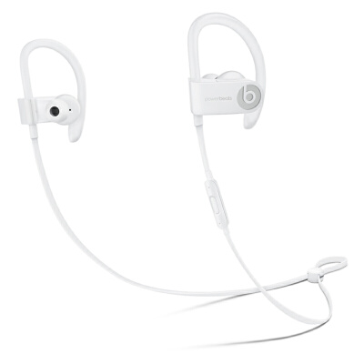 [当当自营] Beats Powerbeats3 by Dr. Dre Wireless 入耳式耳机 白色 ML8W2PA/A
