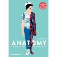 现货 解剖学:人体内部的剖视图 儿童科普画册 精装 英文原版 Anatomy: A Cutaway Look Insi