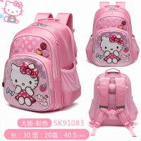 2018新款hello kitty儿童书包女可爱小学生护脊1-3年级韩版防水女孩学生包