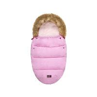 婴儿宝宝儿童推车睡袋防踢冬季加厚睡袋婴儿童抱被丝棉胎蚕式睡袋 100