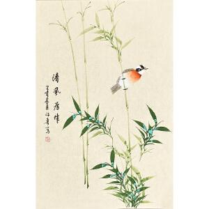 河南美术家协会会员  许鲁 清风自来gh04794