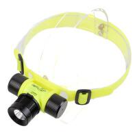 户外潜水R2防水狩猎野鸡头灯充电LED
