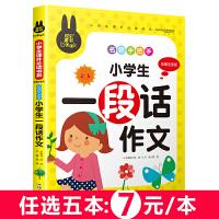 小学生一段话作文 名师手把手 儿童彩图注音版 炫彩童书系列