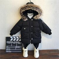 男童童装宝宝冬季儿童3-5岁小孩冬装外套