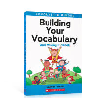 进口英文原版 学乐英语动词检查指南Scholastic Guide:Building Your Vocabulary小