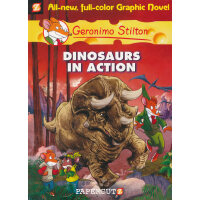 Geronimo Stilton (Graphic Novels) #07: Dinosaurs in Action