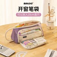 韩版文具盒 迪士尼动力巴士汽车铁笔盒 学生卡通笔盒男多功能文具盒三层铅笔盒 学生礼物