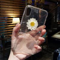 闪粉小花苹果x手机壳iphone7透明硅胶8plus网红xsmax潮牌xr新款女 6/6s 4.7寸