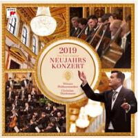 现货 [中图音像]2019维也纳新年音乐会 2CD 克里斯蒂安・蒂勒曼 维也纳爱乐乐团