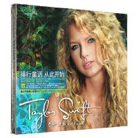 Taylor Swift 泰勒斯威夫特 同名专辑 CD 歌词本
