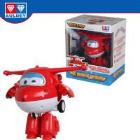 飞侠玩具升级变形机器人乐迪故事机早教机触摸讲故事