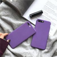 紫色纯色系华为nova4手机壳简约3/2s女款荣耀10/9全包磨砂套P30/P10plus超薄P20