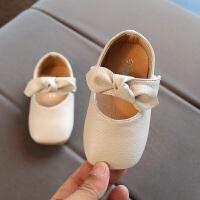 女宝宝鞋子2018春新款婴儿软底学步鞋0-1-2岁3小童公主皮鞋韩版潮