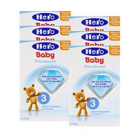 荷兰美素(Hero Baby)婴幼儿配方牛奶粉3段(10-12个月宝宝)800g 六盒装