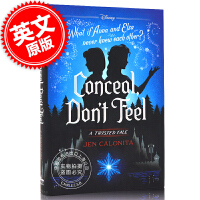 预售 冰雪奇缘 被隐藏的双子 迪斯尼扭曲故事集 英文原版 Conceal, Don't Feel: A Twisted