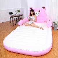 充气床 气垫床双人家用卡通小熊充气床垫户外午休便携 1.5*2.3米