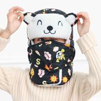 儿童雷锋帽男冬东北冬季可爱帽子女帽儿童款保暖