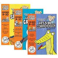 英国小学英语练习册3本套装 阅读语法拼写 9-10岁小学五年级英文原版全彩英文小学教材 Let's Do Gramma