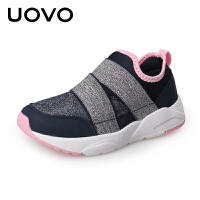 UOVO新款儿童运动鞋女运动鞋春秋新款儿童鞋子透气网面休闲鞋小中童小学生运动鞋 凯米