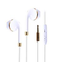全兼容通用手机线控耳机入耳耳塞式带话筒 重低音电脑耳麦