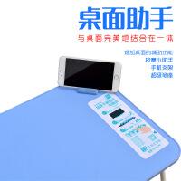 床上用笔记本电脑桌手机助手按摩器一体可折叠懒人桌创意电脑桌