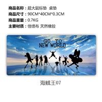 海贼王 超大动漫鼠标垫可爱女生魔兽世界LOL定制办公桌垫(3)