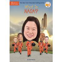 英文原版 NASA 美国航空航天局是什么? What Is Nasa? 中小学读物