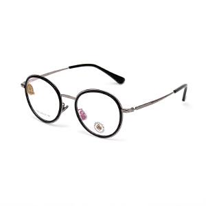 明治/KHDESIGN 复古眼镜框男女近视框架文艺韩版圆形框架潮配近视眼镜KS1753