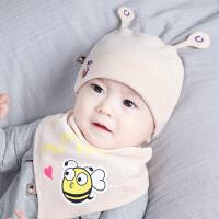 新生儿帽秋冬胎帽0-3-6-12个月男女宝宝帽子保暖婴儿帽子冬