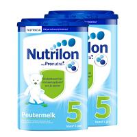 【5段】保税区发货 荷兰牛栏Nutrilon诺优能 婴幼儿奶粉 五段 (2岁以上) 800g*2罐 海外购